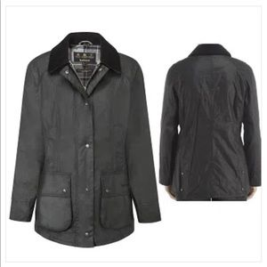 NWT Barbour Beadnell Wax Jacket